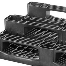 Plastic pallets in Jakarta - a strong plastic pallet from Plastic 2 go Indonesia, Euro 1200x800 , Heavy Duty, P2G888
