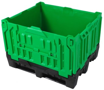 plastic pallet boxes, solid folding bulk container by plastic 2 go indonesia - better by design!