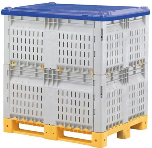 plastic pallet boxes, bulk container by plastic 2 go indonesia - better by design!> <h3 style=
