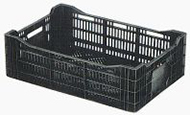 Vented plastic crates by plastic 2 go indonesia - better by design!